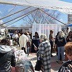 The 2020 Prescott Bridal Affaire Expo at Hassayampa Inn Sunday, March 1, 2020, drew packed crowds (Jason Wheeler/Courier)
