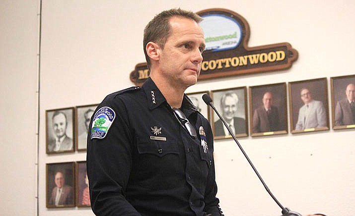 Tuesday's Cottonwood Council meeting will include Police Chief Steve Gesell's annual departmental report. Statistics, trends, organizational goals, special programs, recruitment and other topics are all likely to be covered. VVN file photo