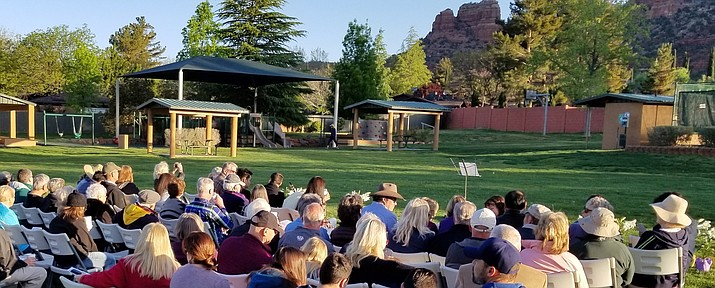 The annual VOC Community Easter Sunrise Service, hosted by the Village of Oak Creek Community Church of the Nazarene (VocNaz), is at Kiwanis Park next to the Oak Creek Country Club clubhouse, at 690 Bell Rock Blvd., Sedona.