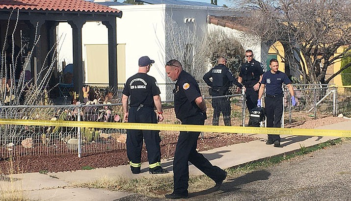 A domestic disturbance call at a Clarkdale home of Second South Street on Thursday, Feb. 27, led to a confrontation that left a 33-year-old man shot dead by a Clarkdale police officer, according to police. The man struck his 4-year-old son and caused injuries that led to the boy's death, police say.  A 6 p.m., Thursday, March 5 public forum has been set up to discuss the incident. VVN/Vyto Starinskas