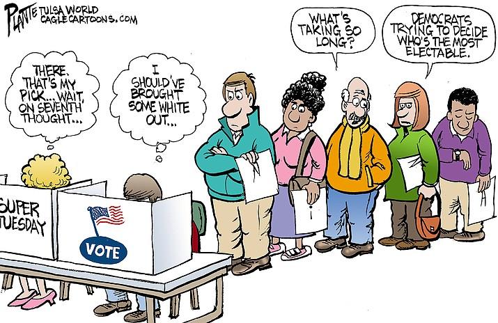 Editorial Cartoon | March 4, 2020