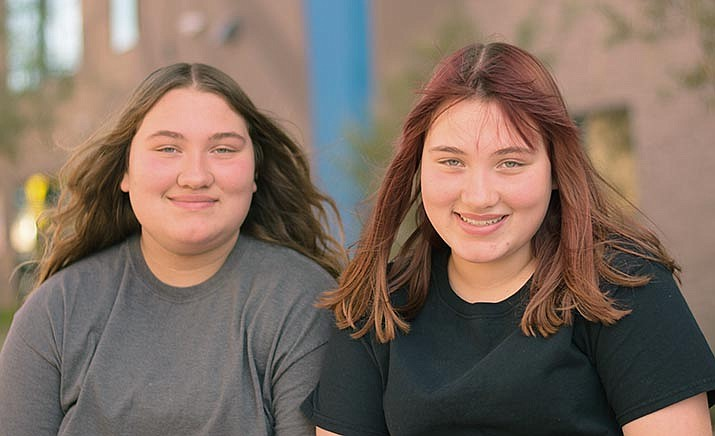 These are Arizona's children: Alyssa and Ashley. Get to know these sisters and other adoptable children at the childrensheartgallery.org.