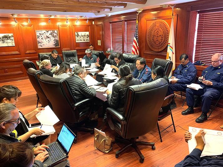Navajo Nation President Jonathan Nez established the Navajo Nation COVID-19 Prepardness Team Feb. 27 to monitor the coronavirus. (Photo/OPVP)