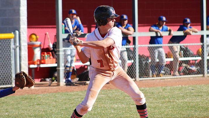 Lee Williams' Dylan Petersen finished 3-for-5 with four RBIs Tuesday in a 16-6 win over Dysart. (Miner file photo)