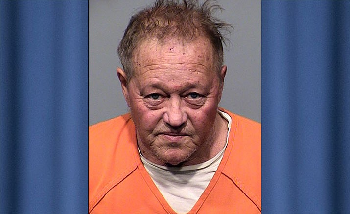 Michael Snell, 64, Cornville, faces charges of aggravated assault with a deadly weapon, assault causing serious injury, burglary, threatening and trespassing. He is being held on a $125,000 bond. YCSO Photo