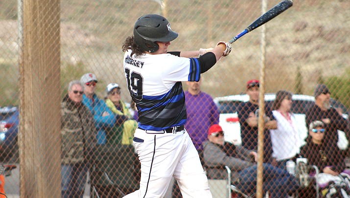 Ryan Hurley finished with three hits and two RBIs on Wednesday in the nightcap of a doubleheader sweep of Northland Prep. (Miner file photo)
