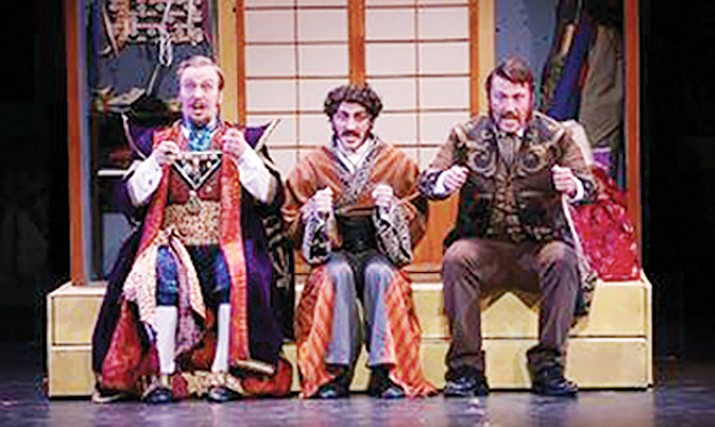 """""""The Mikado"""" at the Yavapai College Performing Arts Center begins at 7 p.m. Saturday, March 7."""