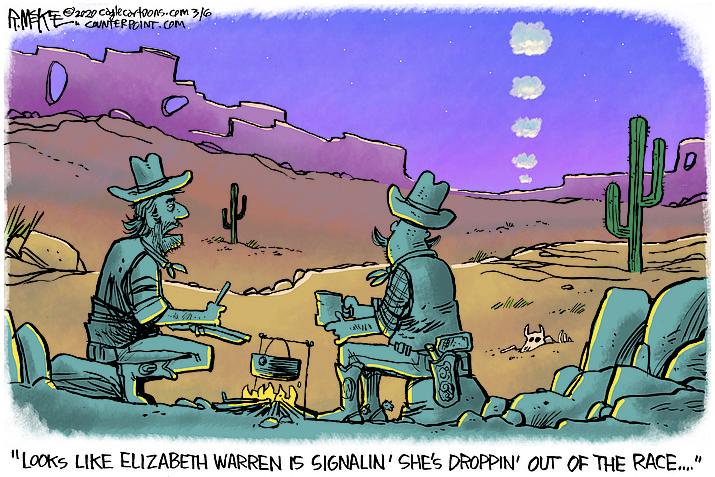 Editorial cartoon (1): March 6, 2020
