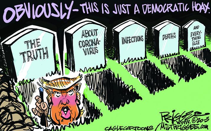 Editorial cartoon (2): March 6, 2020