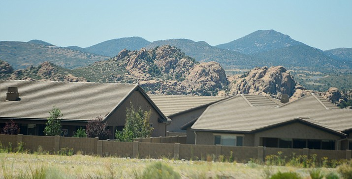 Pending home sales have taken a hit in the COVID-19 shutdown; however, Prescott-area numbers are about half the national average. (Les Stukenberg/Courier, file)