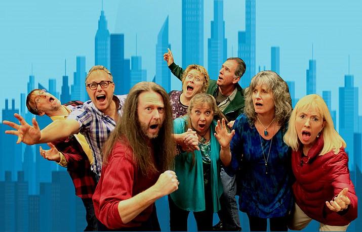 The super minds of Zenprov Comedy are Derek Dujardin, Shaeri Richards, Tom Shoemaker, Shaunn Cochran, Chris Redish, Betty Testa, Linda Roemer and Mary Carder.