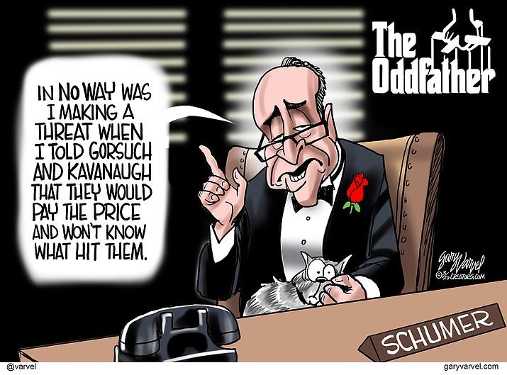 Editorial cartoon (1): March 7, 2020