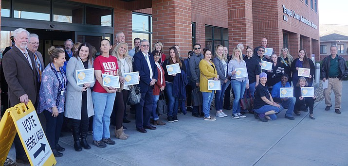 The 206 Golden Plate recipients for 2019 were honored out of a total of 1,380 establishments countywide. (Cindy Barks/Courier)