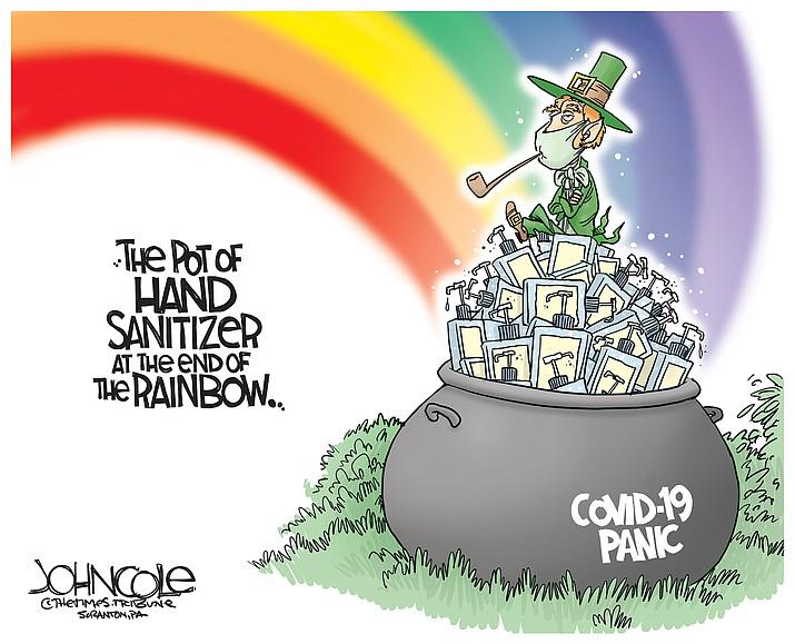 Editorial Cartoon   March 11, 2020