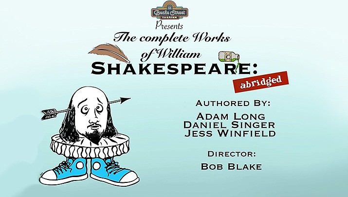 "Join the Beale Street Theater as they present their spring show, ""The Complete Works of William Shakespeare (Abridged)"" outdoors at Metcalfe Park, 315 W. Beale St. at 12 p.m. and 4 p.m. on Saturday, March 14 and Saturday, March 21. (Beale Street Theater)"