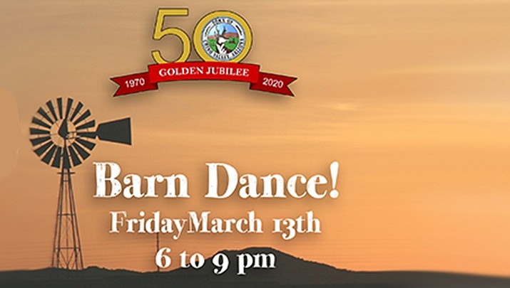 """The Town of Chino Valley is kicking off its 50th anniversary celebration season with a """"Barn Dance & Community Party in the gym at the Del Rio Elementary School, 1036 N. Rd. 1 W. in Chino Valley from 6 to 9 p.m. on Friday, March 13. (Courtesy, file)"""