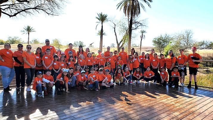 WEMS third graders make annual Phoenix Zoo trip March 2. (Photo/WUSD)