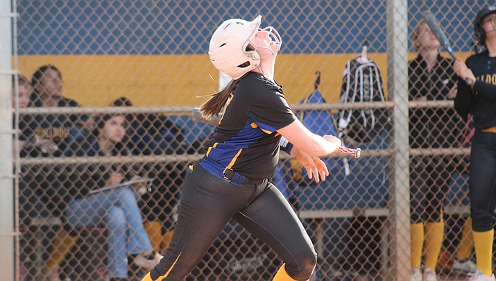 Morgan Stephens and the Lady Bulldogs picked up a 22-2 win over Washington on Monday in Phoenix. (Miner file photo)