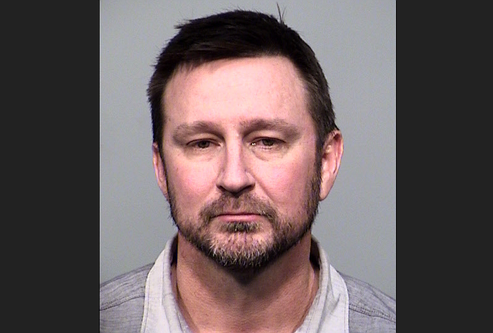 Leon Ford was arrested in Prescott Valley after allegedly endangering a number of other drivers on Highway 69 on Friday, March 6, 2020. (PVPD/Courtesy)