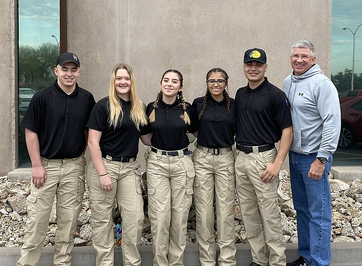 On Feb. 28, Williams High School forensic science/law enforcement students competed at the SkillsUSA competition at Glendale Community College. (Photo/WUSD)