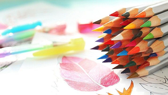"Come ""Experiment with Colored Pencils"" at Dewey-Humboldt Town Library, Lower Level (Basement), 2735 S. Corral St. from 2 to 4 p.m. on Saturday, March 14. (Stock image)"