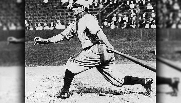 The local Prescott Champions Vintage Baseball Club begins its spring and summer home schedule of play at 11 a.m. at Ken Lindley Field, 702 E. Gurley St (Courtesy file photo/Hall of Famer Honus Wagner circa 1909/Sharlot Hall Museum)