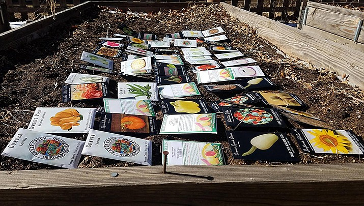 """Everyone is invited to participate in the """"Spring Community Seed Exchange"""" hosted by the Prescott Farmers Market located at Yavapai College, 1100 E. Sheldon St. in Prescott from 10 a.m. to 1 p.m. on Saturday, March 14. (Prescott Farmers Market)"""