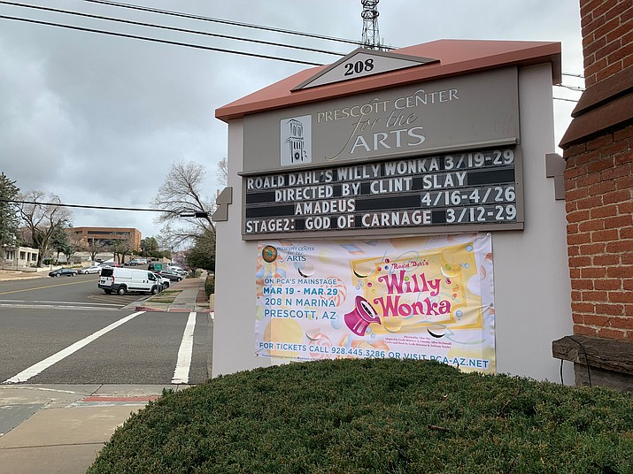 Productions at the Prescott Center for the Arts have been rescheduled due to concerns about the coronavirus. (Aaron Ricca/For the Courier)