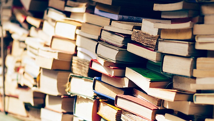 A huge used book sale is taking place at the Prescott Community Church, 3151 Willow Creek Blvd. from 8 a.m. to 2 p.m. on Friday and Saturday, March 13-14. (Stock image)