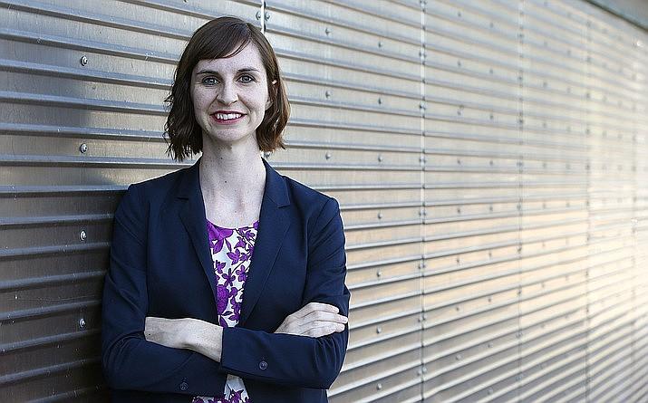 Superintendent of Public Instruction Kathy Hoffman. (Ross D. Franklin/AP, file)