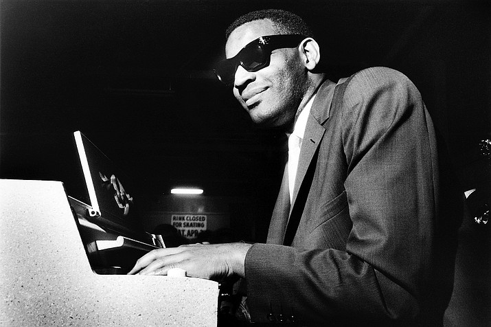 Ray Charles is pictured in the late '50s. (Courier file)