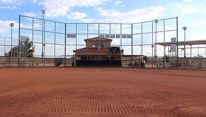 Many professional and college sports teams debated holding games without fans before deciding to postpone or cancel the events. Could Kingman be next and Southside Park, above, be one of the places to hold games without fans? The Arizona Interscholastic Association's Executive Board meets at 9 a.m. Monday, March 16 to figure that out. (Miner file photo)