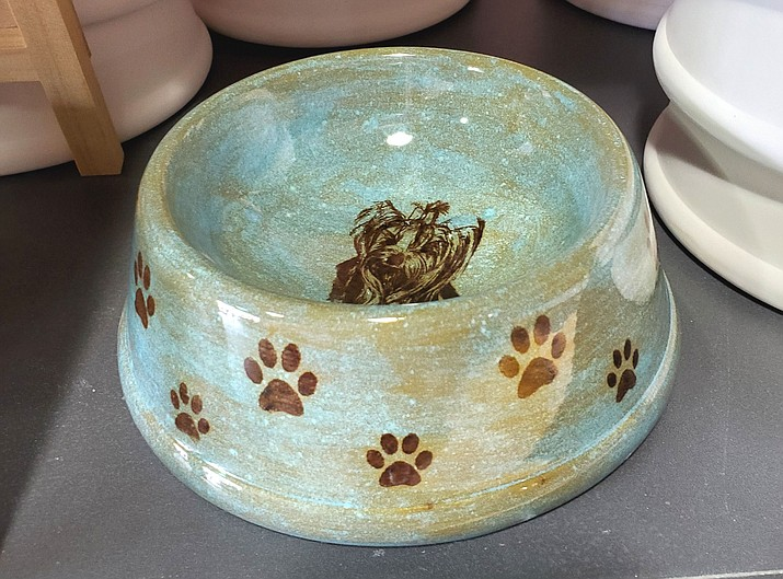 Animal lovers can create bowls for their pets at the Woof Down Lunch on May 30. (Courtesy)