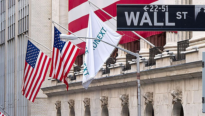 The Dow Jones Industrials fell nearly 3,000 points in trading on Wall Street on Monday, March 16, as investors worry that the coronavirus could lead the economy into recession. (Photo by Carlos Delgado, CC by 3.0, https://bit.ly/2QT7oQq)