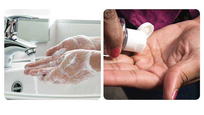 There are important differences between washing hands with soap and water and cleaning them with hand sanitizer. See the official CDC guidelines below.