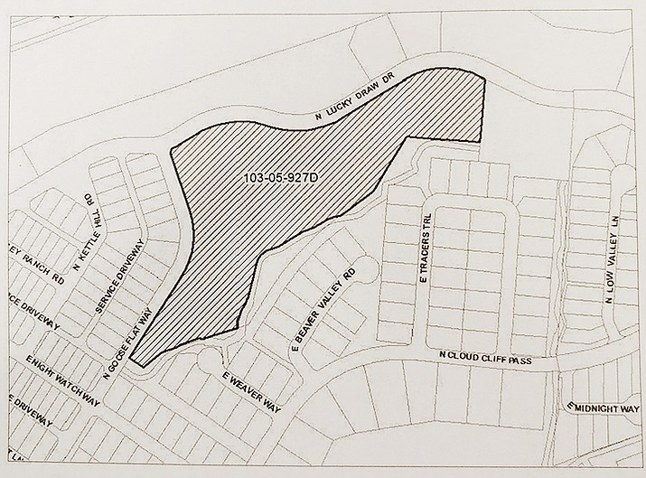 Proposed parcel. (Courtesy)
