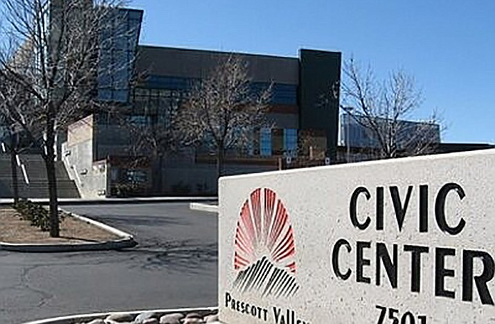 The Town of Prescott Valley closed the Civic Center at 7501 E. Skoog Blvd. to the public at 3 p.m. on Thursday, March 19. (Courier, file)