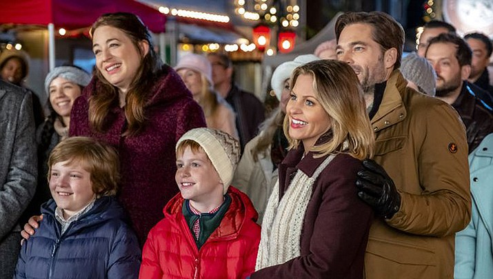 """Hallmark feels that a little holiday cheer will help us get over the quarantine blues so, starting on Friday, March 20 at 12 p.m./11 C they will air 27 original """"Countdown to Christmas"""" holiday films. (Hallmark Channel)"""