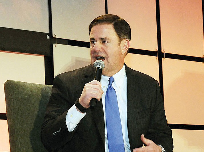 Arizona Governor Doug Ducey agreed to activate the National Guard to restock store shelves, halt all elective surgeries and close all bars, gyms and movie theaters in any county where there have been confirmed cases of COVID-19. (Courier, file)