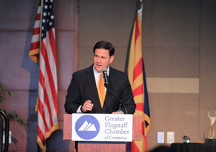 Gov. Doug Ducey (Wendy Howell/WGCN)