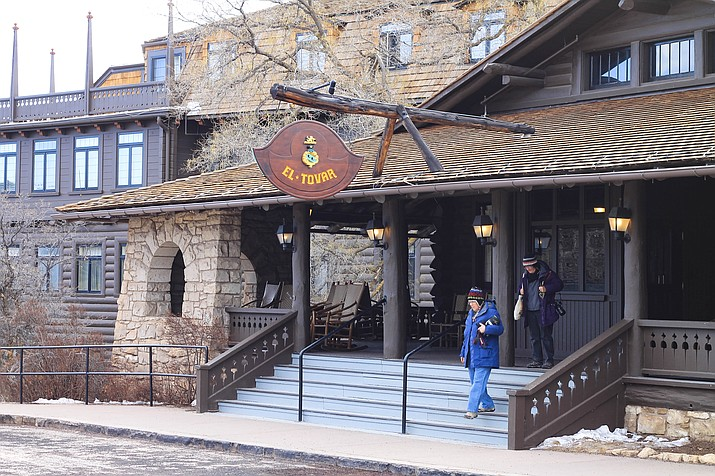 All Xanterra operated services within Grand Canyon National Park including lodges, restaurants and tours are suspended through May 21 starting at noon March 20. (Loretta McKenney/WGCN)