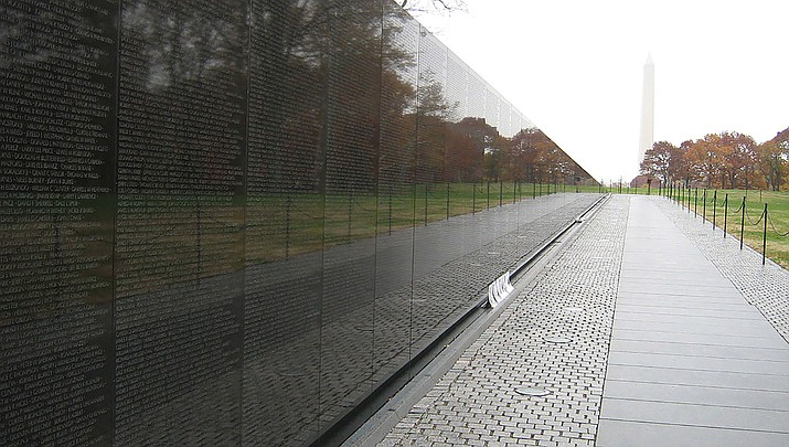 Vietnam Veterans Day will be observed on Sunday, March 29, 2020 nationwide. The Vietnam Memorial Wall in Washington D.C. is shown above. (Photo by dave _7, cc-by-sa-2.0, https://bit.ly/2wkmiXl)