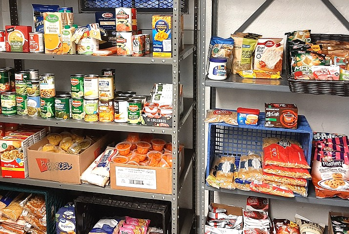 Grand Canyon Food Pantry is currently planning to remain open during their regular hours. (Abigail Kessler/WGCN)