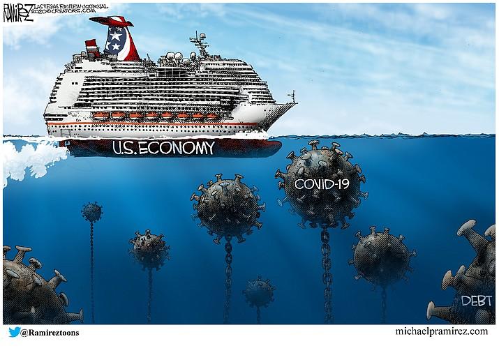 Editorial cartoon (2): March 21, 2020