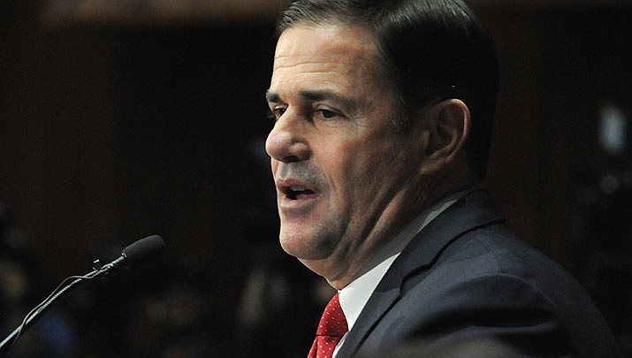 Arizona Gov. Doug Ducey set the deadline for filing income taxes this year to July 15. (File photo by Howard Fischer/For the Miner)