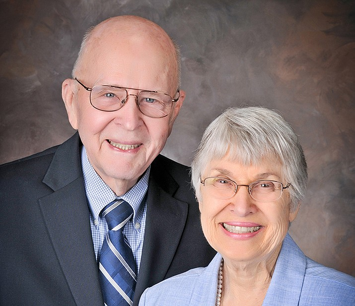 Joanne Sandlin and Tom Benson (Courtesy)