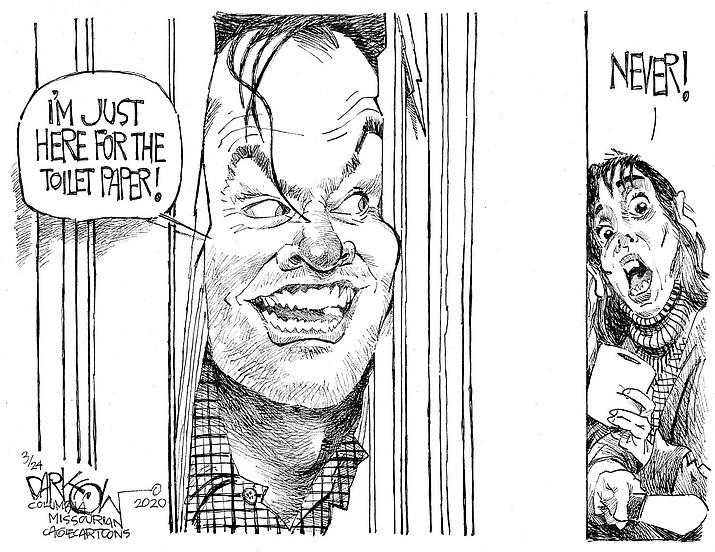Editorial Cartoon   March 25, 2020