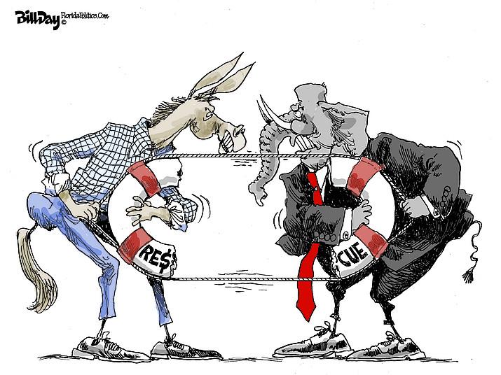 Editorial cartoon (2): March 25, 2020