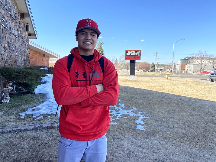 Dorian Ayala is a senior at Williams High School. (Wendy Howell/WGCN)