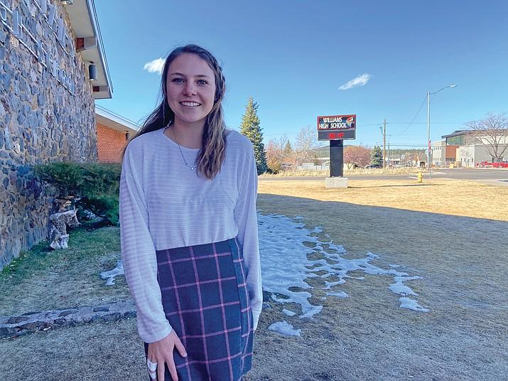 Maegan Ford is a senior at Williams High School. (Wendy Howell/WGCN)